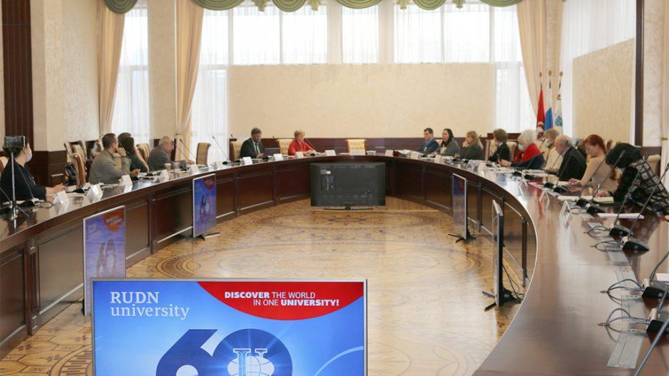 Рабочее заседание по вопросу создания предпрофессионального проекта «Экологический класс в московской школе»